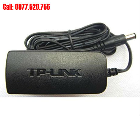 Adapter TP-link 9V-0.6A dùng cho switch, modem, wifi